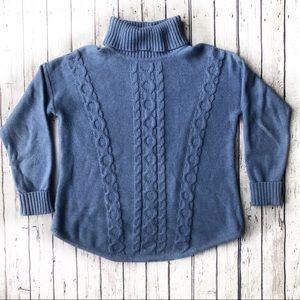 L.L. Bean Turtle Neck Knit Sweater